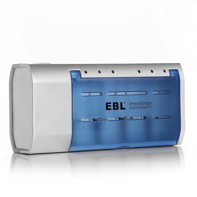 8pcs/lot EBL 5000mAh 1.2v C Size Rechargeable Battery + AA AAA C D Size 9V 6F22 Ni-MH Replacement Ni-CD Battery Charger