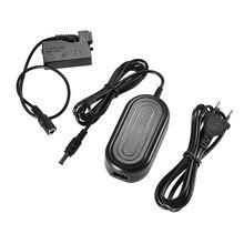 Andoer ACK E8 AC Power Supply Adaptador de Bateria LP E8 Manequim Câmera carregador para Canon 700D 650D 600D 550D/Rebel T4i T5i etcDSLR