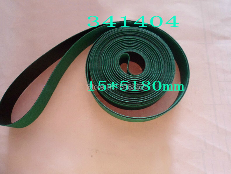 341404 Charmilles Belt 15 x 5180 mm Green ( with one side black), Wire EDM Machine Spare Parts 200440864 charmilles belt 15 x 3030mm green with one side black wire edm low speed machine spare parts