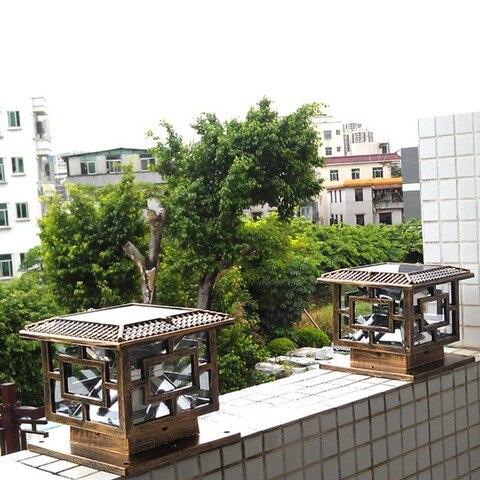 lampada de jardim movido energia solar
