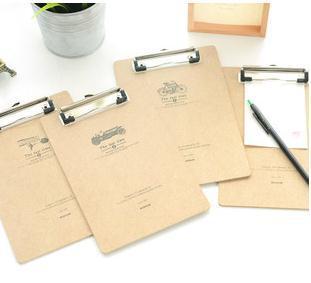 new hot 2015 korea style a5 hard and thick paper clip board writing board files clip a5 clipboard clip boards