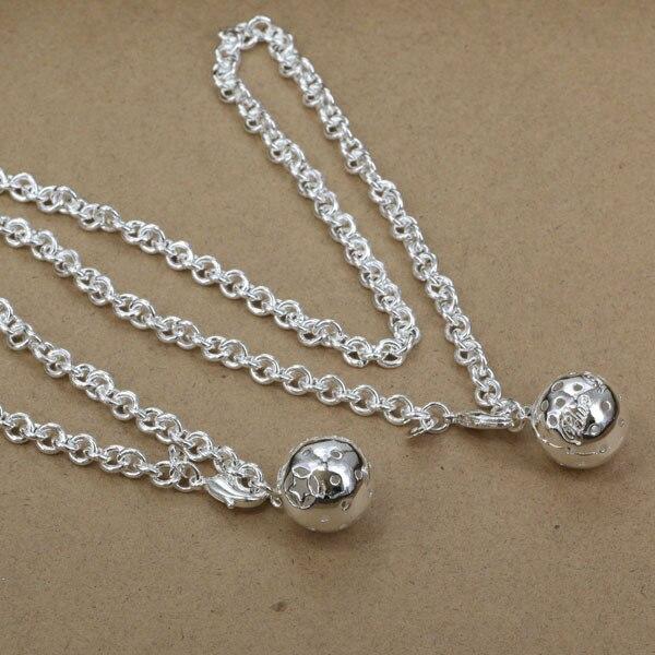 S057 серебро 925 комплект ювелирных изделий, ювелирные изделия набор мяч из  двух частей, комплект ювелирных изделий cjzalbgats f53a3a12a8e