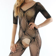 Open crotch leotard sex toy Sexy lingerie hot sexy costumes underwear coveralls erotic lingerie sleepwear women 8662