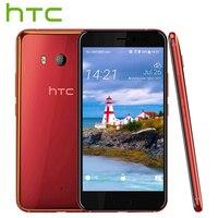 Original HTC U11 4G LTE Mobile Phone Snapdragon 835 Octa Core IP67 Waterproof 6GB RAM 128GB