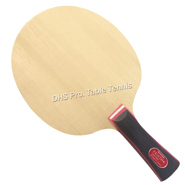 Sanwei FEXTRA 7 нордическая VII лезвие для настольного тенниса 7 слойная древесина, Японская технология, STIGA Clipper CL структура) ракетка для пинг понга