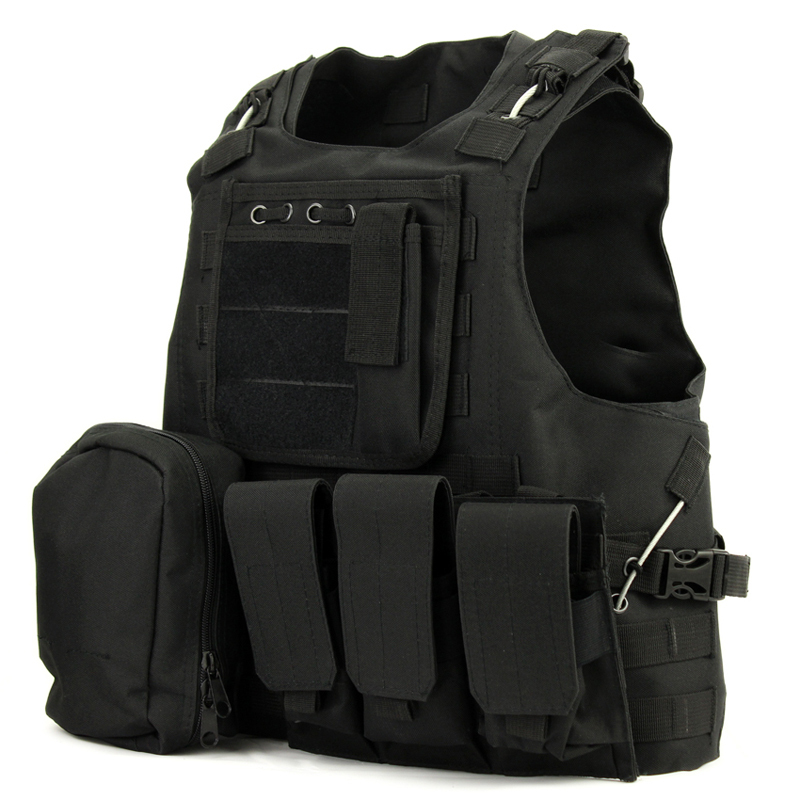 USMC Airsoft Tactical Military Molle Combat Assault Plate Carrier Vest Tactical vest 7 colors