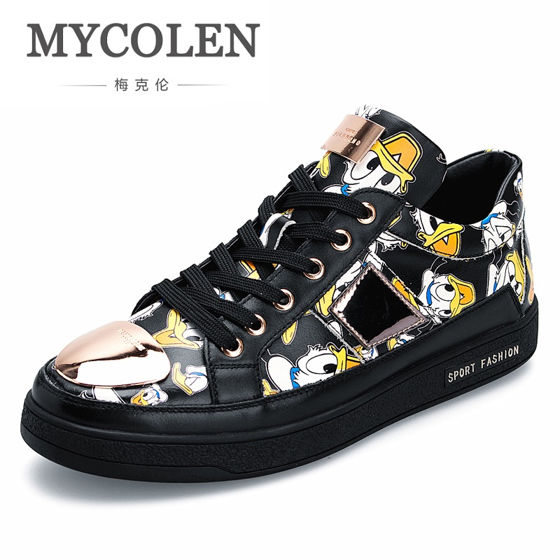 MYCOLEN 2018 Hot Sale New Fashion Men Shoes Brand Design Men Shoes Casual High Top Sneakers Zapatillas Hombre Deportivas Casual seiko настольные часы seiko qhg038gn z коллекция настольные часы