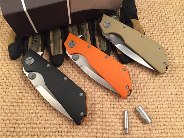 Vendita calda 58-60HRC qualità D2 lama G10 manico 3 colori coltello - Utensili manuali - Fotografia 2