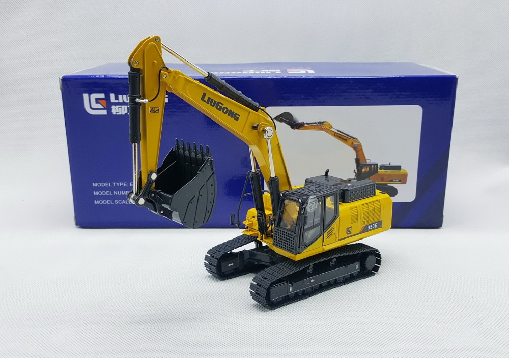 Rare,Collectible Diecast Model Toy Gift 1:50 Scale Liugong CLG950E Hydraulic Excavators Engineering Machinery Toy for DecorationRare,Collectible Diecast Model Toy Gift 1:50 Scale Liugong CLG950E Hydraulic Excavators Engineering Machinery Toy for Decoration