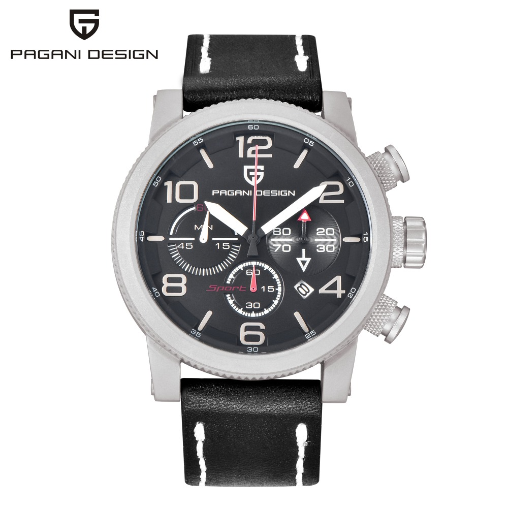 Relogio Masculino PAGANI DESIGN Mens font b Watches b font Top Brand Luxury Quartz font b