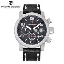 Relogio Masculino PAGANI DESIGN Mens Watches Top Brand Luxury Quartz Watch Sport Dive Male Clock Chronograph Military Wristwatch