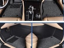 цена на car floor mats foot rugs for Peugeot 301 207 307 2008 308 408 508 3008 RCZ 208 4008 308S Caddy Combi VR6 multivan Golf GTI CC