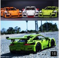 DECOOL Technic 3368 A D C 2726PCS Car Model Building Kits Blocks Toys Bricks Compatible