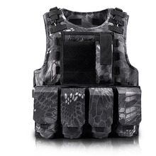Camouflage Hunting Airsoft Military Vest Mens Bulletproof Army CS Paintball army Tactical Equipment Chalecos Combat Gear Vests