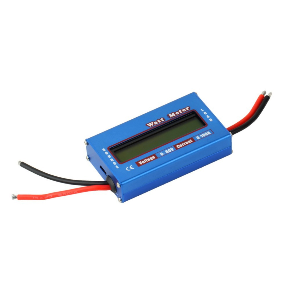 Analyzer Watt Meter Digital LCD For DC 60V/100A Balance Voltage RC Battery Power new 4 8v 60v 150a lcd g t power module rc watt meter tester and power analyzer high precision