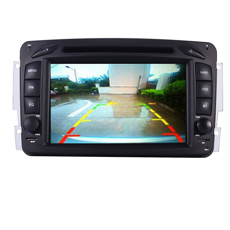 Image 3 - 2din 7 inch CAR DVD PLAYER For Mercedes Benz CLK W209 W203 W208 W463 3g GPS Bluetooth Radio Stereo Car Multimedia Navi System-in Car Multimedia Player from Automobiles & Motorcycles