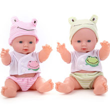 2016 hot sale 29cm baby doll fucoidin doll baby bath toy belt voice-activated water doll  Baby intellectual development gift