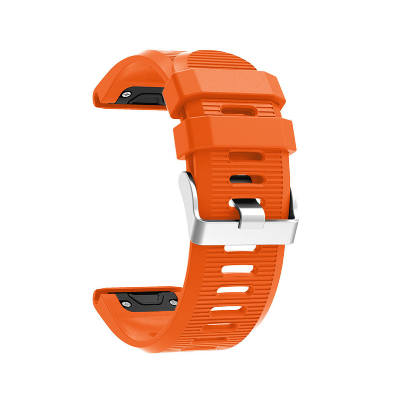 26 22 20mm Watchband for Garmin Fenix 5X 5 5S Plus 3 3 HR Forerunner 935 Watch Quick Release Silicone Easy fit Wrist Band Strap 1