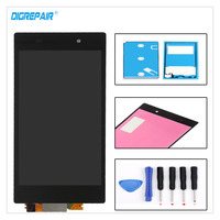 100 Tested High Quality Black For Sony Xperia Z1 L39h C6903 C6943 LCD Display Digitizer Touch