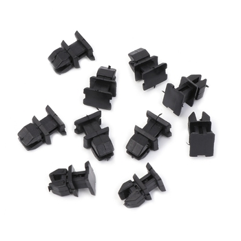 10 Pcs/Set Door Plastic Panel Clip Push Retainer Body Panel Clips For Mercedes Benz W124 R129 W140 W202 image