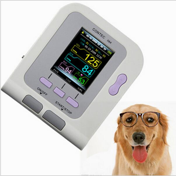 CONTEC08A Digital Veterinary NIBP Blood Pressure Monitor + 6-11 ARM Circuference Cuff for VET, Animal+Spo2 Probe contec08a veterinary digital bpm with free pc softwear and vet spo2 probe