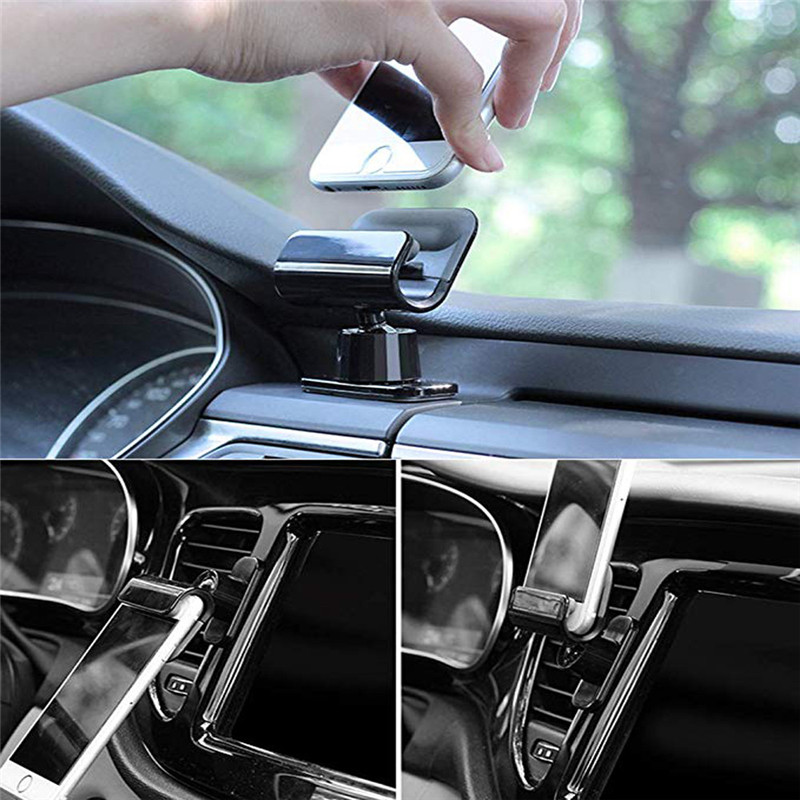 kongyide Car Holder 360 degree Gravity Sensing Car Phone Holder Mount Bracket for 4-7inch Smartphone GPS Universal dropship mar8