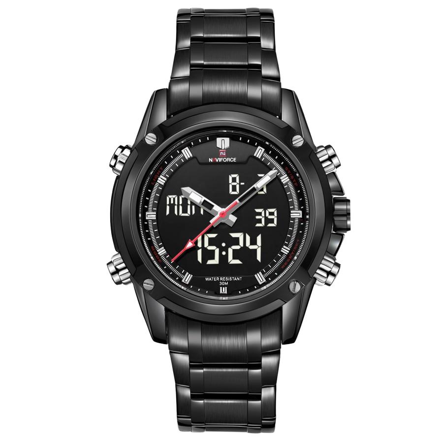 Luxury Top Brand Full Steel Men Sports Watches Men s Quartz Digital Army Military Multi function