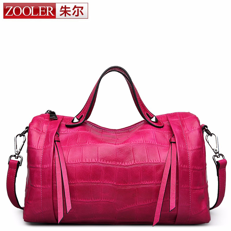 ZOOLER Designer Genuine Leather Bags Ladies Famous Brand Women Handbags High Quality Tote Bag for Women Fashion Hobos Bolsos sac герои и злодеи