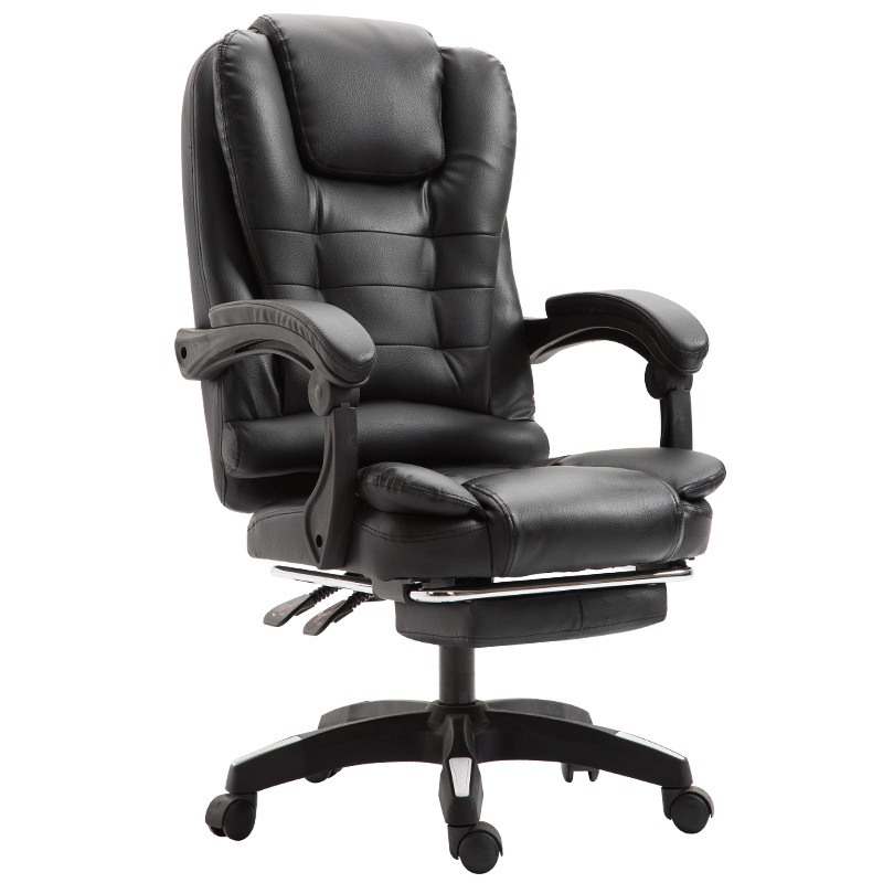 Купить с кэшбэком E-Sports Computer Conference Chair Cortex Reclining Massage Boss Seat Rotation Lifting Lunch Office Chair Aluminum alloy foot