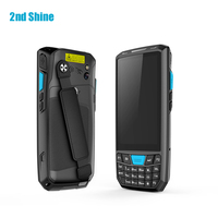 Rugged Wireless Handheld Android 2d Barcode Scanner PDA Android Portable Data Terminal pdf417 with 4G GPS wifi GSM code