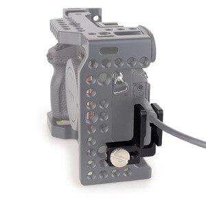 Image 5 - MAGICRIG HDMI kablo kelepçesi HDMI kilidi kelepçe A7RIII /A7RII /A7III /A7II /A7SII /A7M3 DSLR kamera kafesi fotoğraf kiti Rig