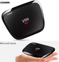 SCISHION V99 hero 4GB RAM 32GB ROM Smart Android TV Box RK3368 Octa Quad 2.4G+5G WiFi BT4.0 4K HD Media Player Set Top Box