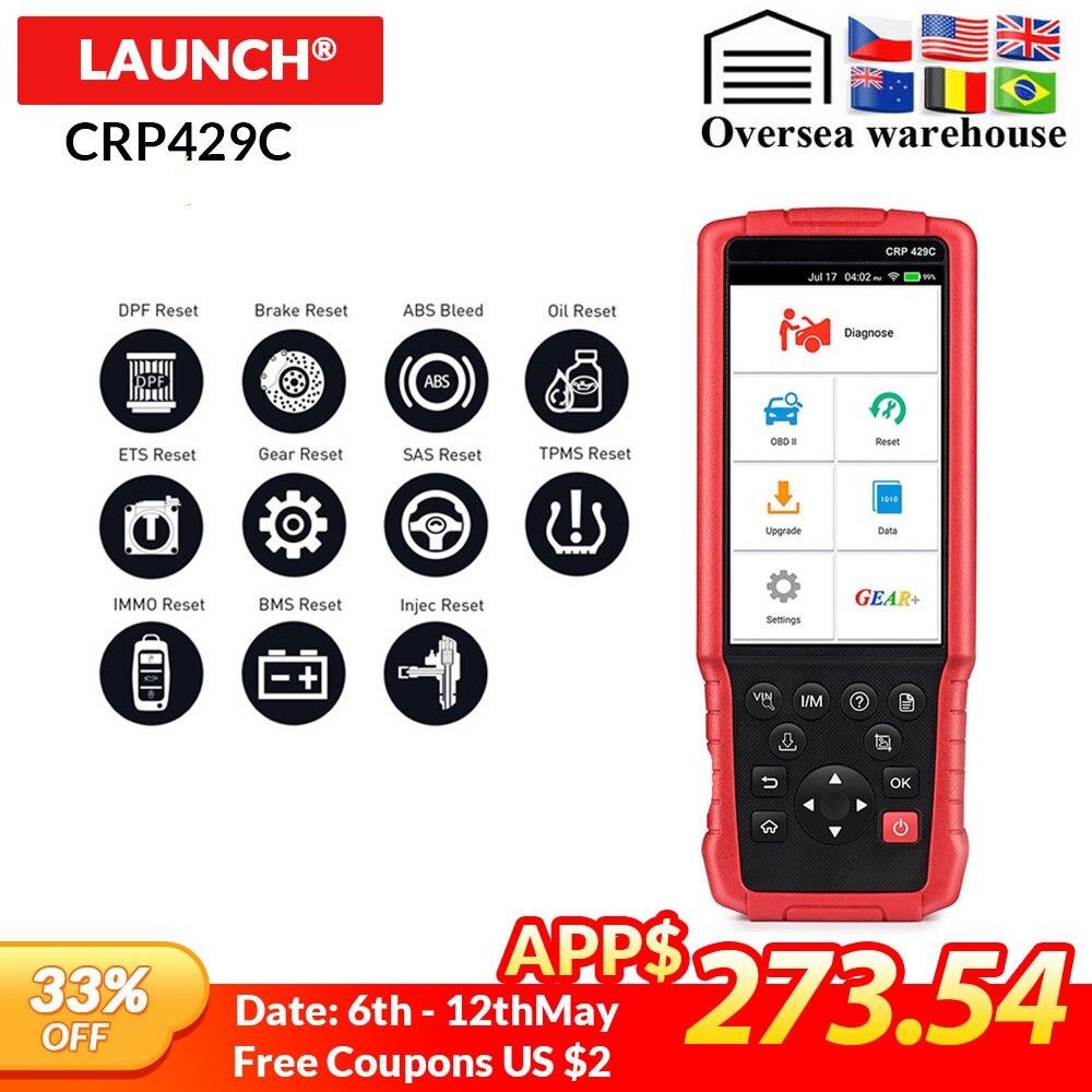 Methodisch Launch Crp429c Crp 429 Obd2 Diagnostic Tool Voor Motor/abs/airbag/at + 11 Service Een Klik Update Auto Code Reader Pk Fx4000 Obd2 Gebruiksgoederen
