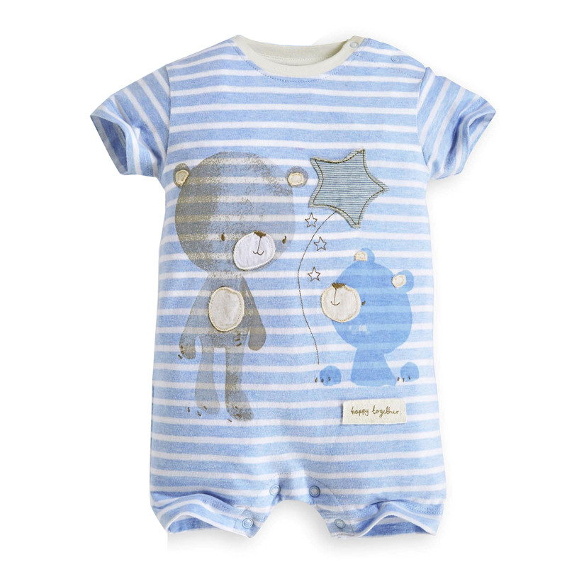 Baby Rompers Summer Baby Boy Clothes 2017 Baby Boy Clothing Sets Newborn Baby Clothes Roupas Bebe Infant Jumpsuits Kids Clothes 2pcs baby boy clothing set autumn baby boy clothes cotton children clothing roupas bebe infant baby costume kids t shirt pants