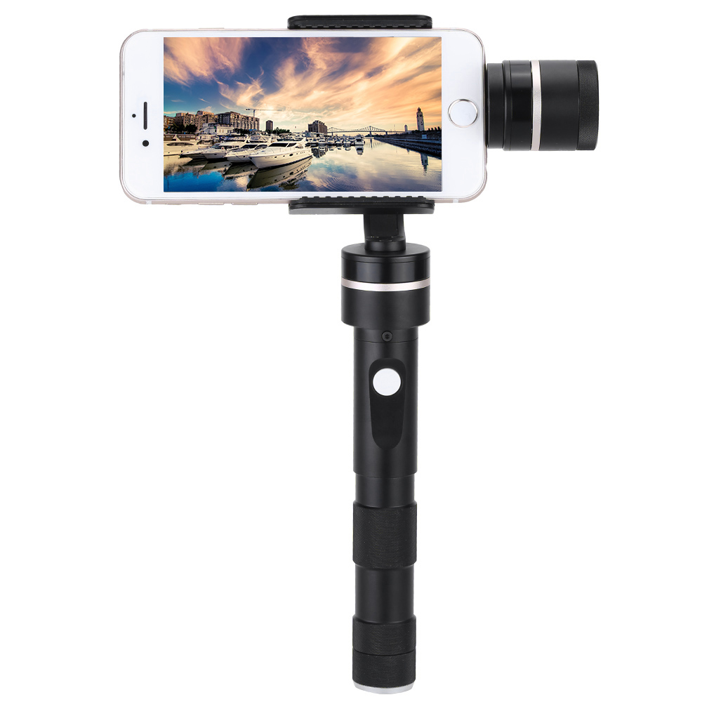 цена на Feiyu FY G4 Plus Youth Edition 3 Axis Brushless Handheld Steady Gimbal Stabilizer for GoPro hero Mobile Phone b free ship DHL