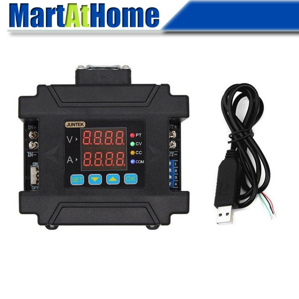 Contrôle numérique Programmable réglable DC régulé alimentation Buck DC-DC abaisseur entrée 10 ~ 75 V DC sortie 0 ~ 60 V DC 0 ~ 5A LCD