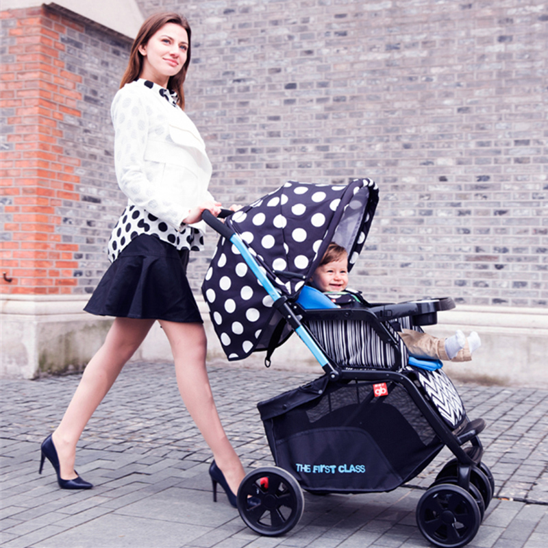 Goodbaby Hot Selling Two-way Available Stroller for 0-36 Months Baby, Folding Pushchair, Baby Carriage, Fashion Pram(China (Mainland))