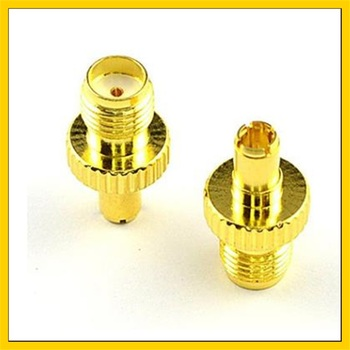 цена на 100PCS 3G 4G antenna adapter  connector SMA Female Plug to TS9 Male Jack RF Straight Antenna Connector Gold Plated