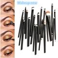 20pcs Eye Makeup black Brushes Set Eyeshadow Blending Brush Powder Foundation Eyeshadading Eyebrow Lip Eyeliner Cosmetic Tool