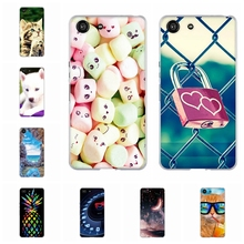 For Sony Xperia Ace Case Ultra-slim Soft TPU Silicone Cover Wild Animal Patterned Bumper