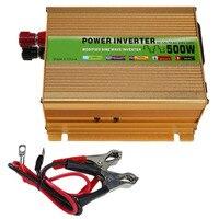 Full Bridge Peak Modified Sine Wave Power Inverter DC12V To AC220V USB Adapter Voltage Transformer Inversor