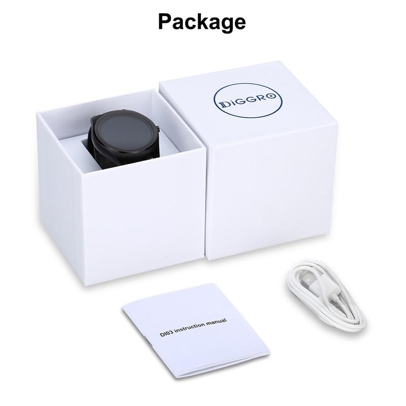 6fd90fd035b2 Diggro DI03 reloj inteligente Bluetooth 4
