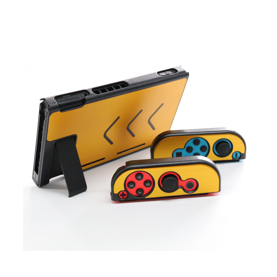 Nintend Accessories 5 Colors Hard Metal Nintend Console Case Shockproof Protective Cover for Nintend Switch NS Console Joy-con 5