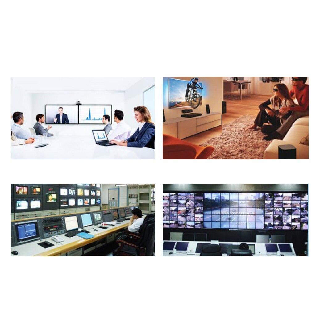MagiDeal VGA vidéo Extender 200 m/656ft émetteur récepteur RJ45 Cat5e câble 1080 P - 5