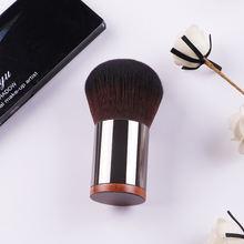 Металлическая ручка купольной формы 124 Кисть для макияжа компактной