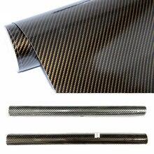 цена на High Glossy Film 5D Car Sticker Carbon Fiber Film 50*200cm DIY Change Color Film Auto Exterior Accessories Film Black,Brown
