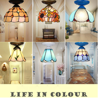 T Mediterranean Style Ceiling Pendant For Bedroom Corridor Balcony Waterdrop Lamp For Home Simple Dining Room