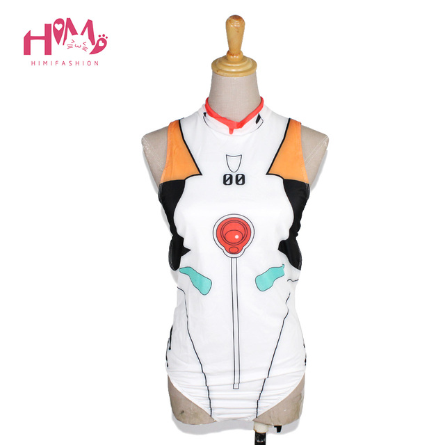 Japanese soft girl lovely and cute anime and comic EVA women sexy bustiers one piece hotpot cosplay corsets