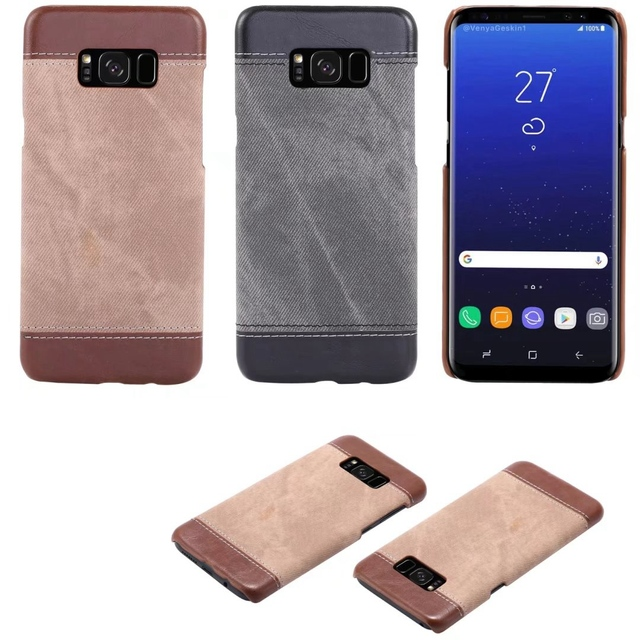 outlet store 3042f fe55d US $4.99 |Aliexpress.com : Buy Luxury Hard Case For Samsung Galaxy S7 / S7  Edge Leather Cowboy Grain Back Cover Suede Inner Fundas Coque For S8 S6 S6  ...