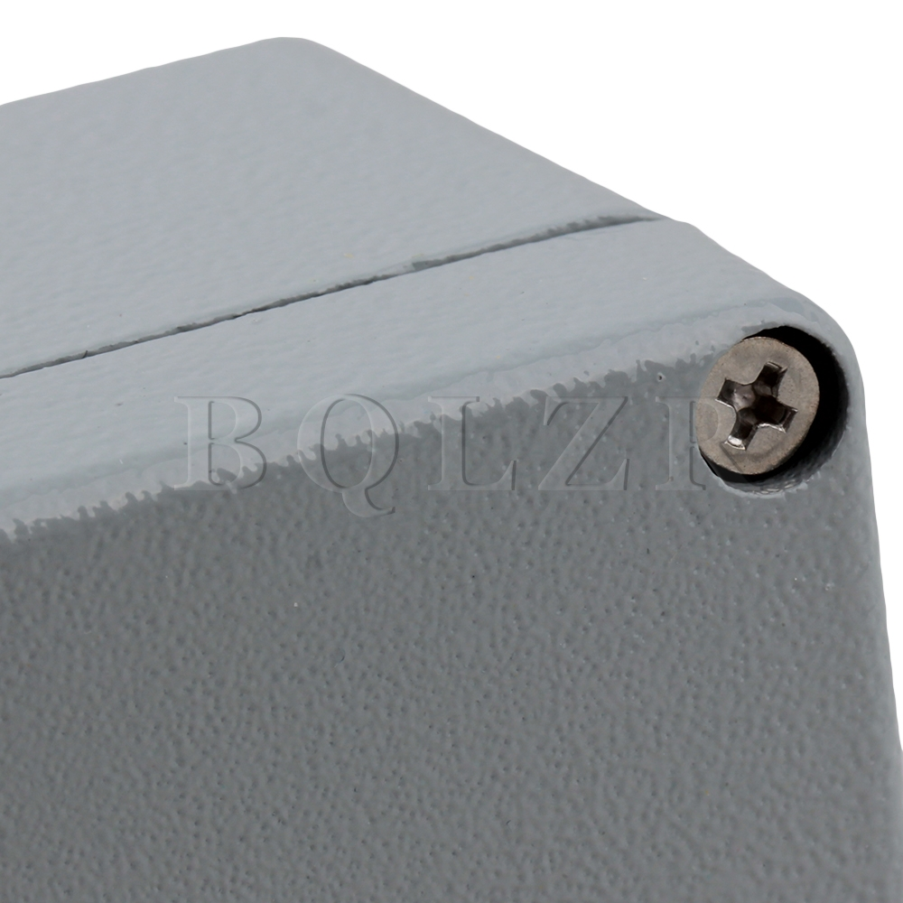 Bqlzr 80x75x58mm Waterproof Ip66 Aluminum Electric Junction Box Dark Wiring Bq Gray In Connectors From Lights Lighting On Alibaba Group